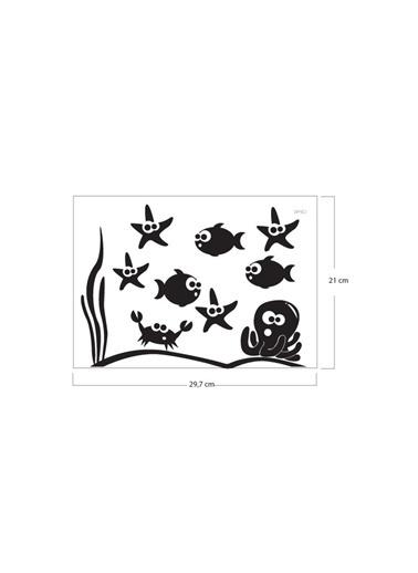 Disney Marina-2 Klozet Sticker 18X27 Cm Renkli